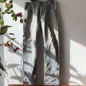UNIQLO Jeans Grey. W. 32. L. 34.